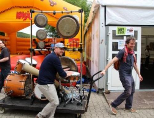 Zu Gast bei den Sonor Days in Deutschland, 2014