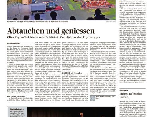 Olter Tagblatt, 3. Dezember 2018